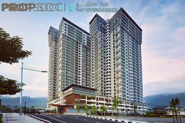 For Sale Condominium at Mira Residence, Tanjung Bungah Freehold Unfurnished 3R/4B 1.6m