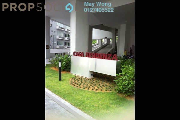 For Sale Serviced Residence at Casa Residenza, Kota Damansara Leasehold Semi Furnished 3R/2B 420k