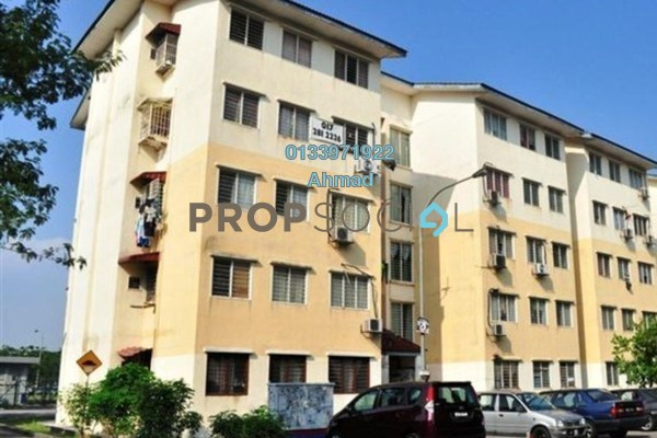 For Sale Apartment at Taman Kinrara, Bandar Kinrara Leasehold Fully Furnished 3R/2B 149k