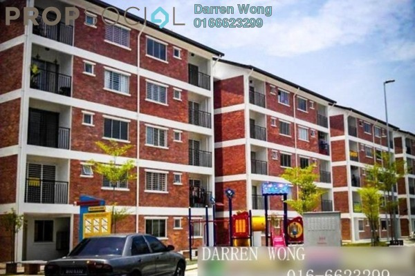 For Sale Apartment at Puri Pesona Apartment, Bandar Sungai Long Leasehold Semi Furnished 3R/2B 248k