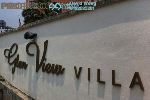 For Rent Condominium at Glen View Villa, Cheras Leasehold Unfurnished 3R/2B 1.1k