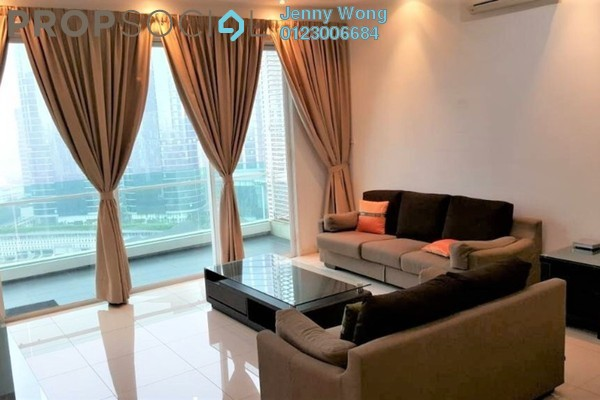 For Rent Condominium at The Park Residences, Bangsar South Leasehold Fully Furnished 3R/3B 4.8k