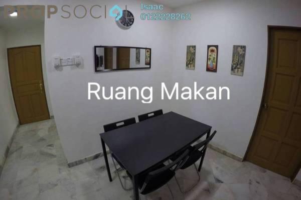 For Sale Apartment at Pandan Lake View, Pandan Perdana Leasehold Semi Furnished 3R/2B 320k