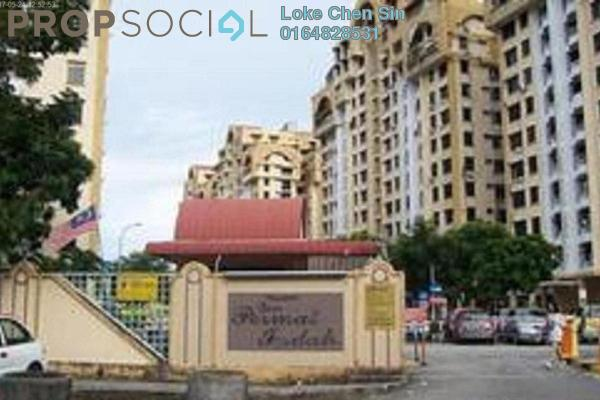 For Rent Apartment at Desa Permai Indah, Sungai Dua Leasehold Semi Furnished 3R/2B 1k
