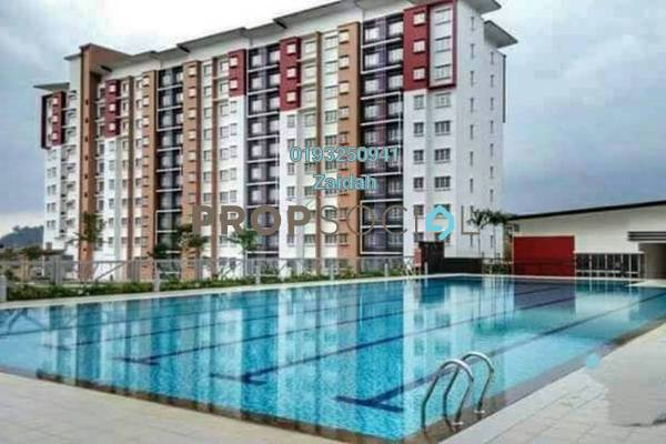 For Sale Apartment at Seri Jati Apartment, Setia Alam Freehold Unfurnished 3R/2B 290k