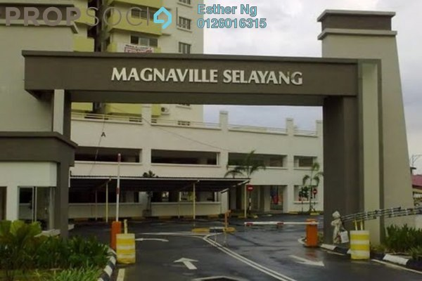 For Sale Condominium at Magna Ville, Selayang Leasehold Unfurnished 3R/2B 234k