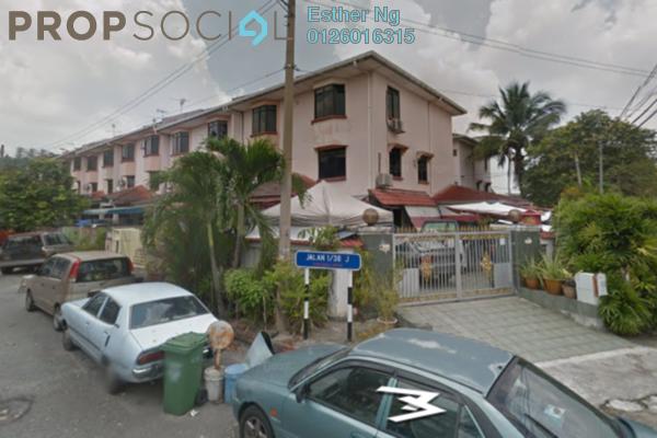 For Sale Terrace at Taman Sri Bintang, Kepong Freehold Unfurnished 0R/0B 750k