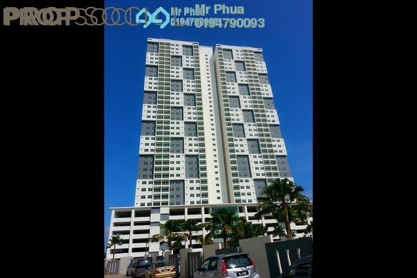 For Rent Condominium at Pinang Laguna, Seberang Jaya Freehold Unfurnished 4R/2B 950translationmissing:en.pricing.unit