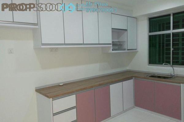 For Rent Condominium at Pinang Laguna, Seberang Jaya Freehold Semi Furnished 4R/2B 1.2k