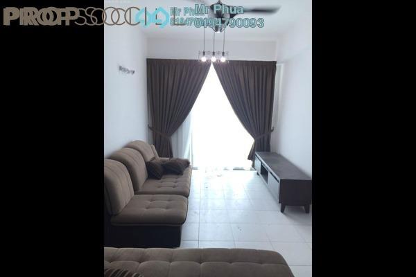 For Rent Condominium at Pinang Laguna, Seberang Jaya Freehold Fully Furnished 4R/2B 1.3k