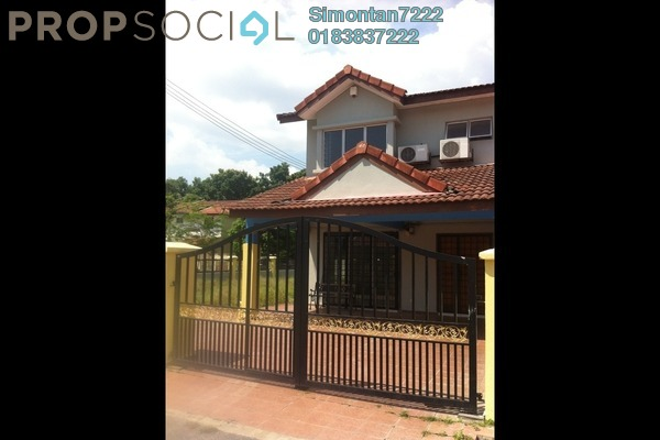 For Sale Terrace at Taman Putra Prima, Puchong Freehold Semi Furnished 4R/3B 738k