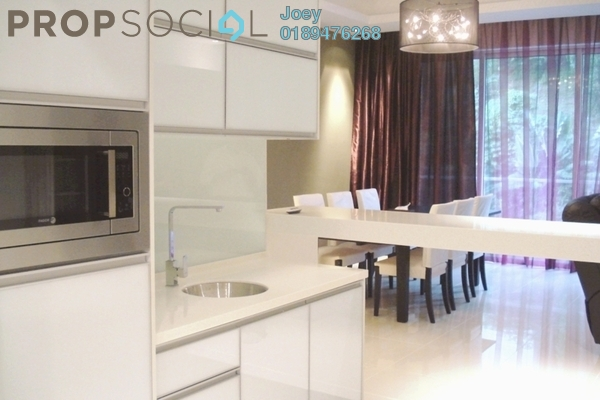 For Rent Condominium at The Park Residences, Bangsar South Leasehold Fully Furnished 4R/3B 6k