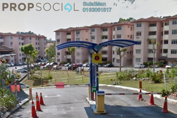 For Sale Apartment at Sri Raya Apartment, Ukay Leasehold Semi Furnished 3R/2B 207k