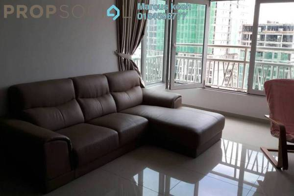 For Rent Condominium at The Peak Residences, Tanjung Tokong Freehold Fully Furnished 3R/2B 1.6k