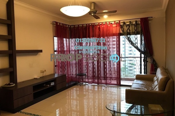 For Rent Condominium at Cita Damansara, Sunway Damansara Leasehold Semi Furnished 3R/2B 1.8k