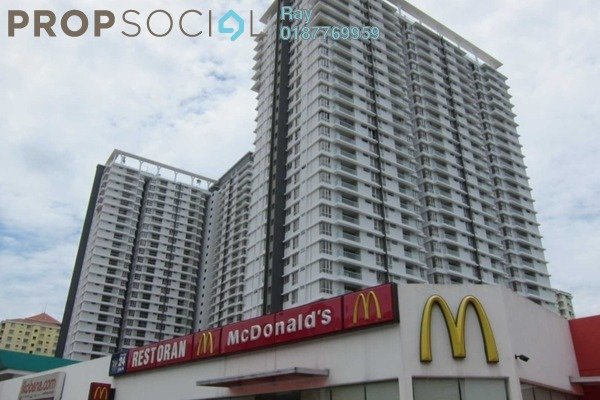 For Rent Condominium at Platinum Hill PV2, Setapak Freehold Semi Furnished 4R/2B 1.9k