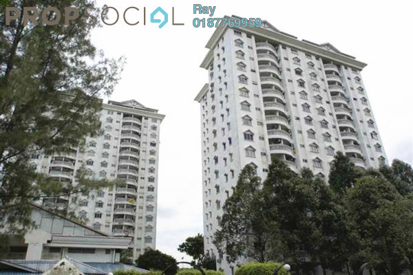 For Rent Condominium at Endah Villa, Sri Petaling Leasehold Fully Furnished 3R/2B 1.6k