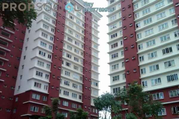 For Rent Apartment at Danau Lumayan Avenue, Bandar Sri Permaisuri Leasehold Unfurnished 3R/2B 1.25k