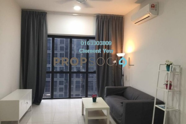 For Rent Serviced Residence at Icon Residenz, Petaling Jaya Leasehold Fully Furnished 2R/1B 2.4k