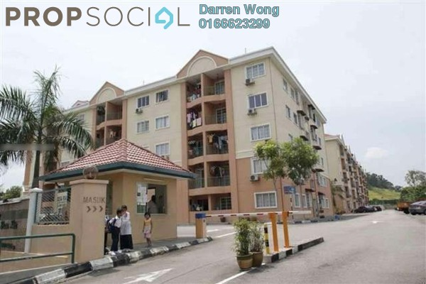 For Sale Apartment at Desa Ria Apartment, Balakong Freehold Semi Furnished 3R/2B 280k