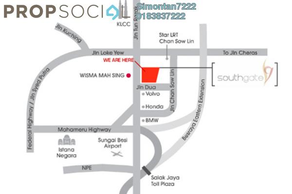 Southgate map small