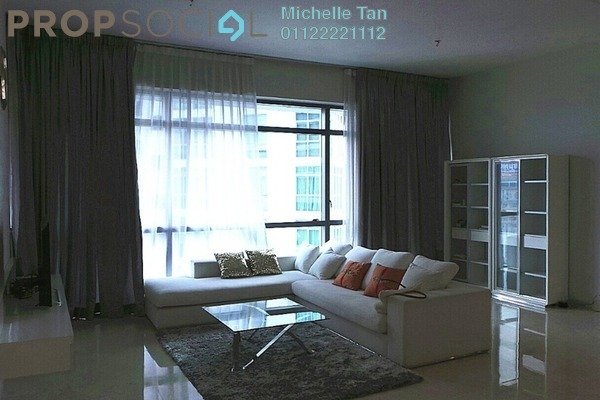 For Rent Condominium at Panorama, KLCC Freehold Fully Furnished 2R/2B 7.5k