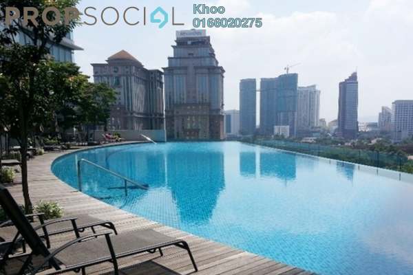 For Rent Condominium at Panorama, KLCC Freehold Fully Furnished 2R/2B 6k