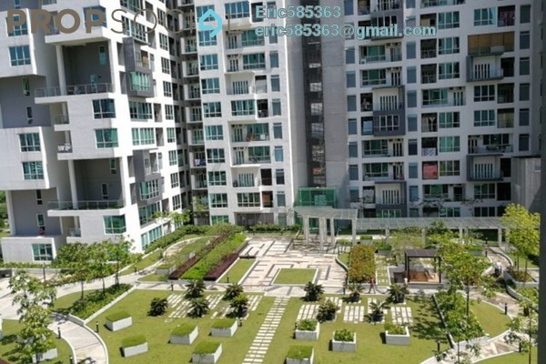For Rent Serviced Residence at The Loft @ ZetaPark, Setapak Leasehold Semi Furnished 3R/2B 2k