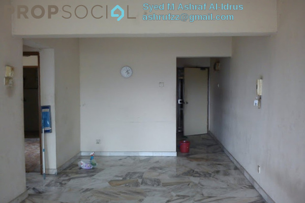 For Rent Condominium at Permai Ria, Jalan Ipoh Leasehold Semi Furnished 3R/2B 1.4k