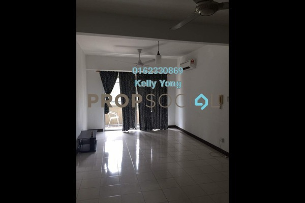 For Rent Condominium at Segar View, Cheras Freehold Semi Furnished 3R/2B 1.65k