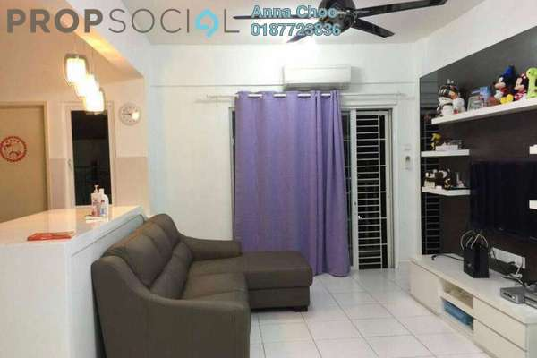 For Sale Condominium at First Residence, Kepong Leasehold Fully Furnished 3R/2B 620k