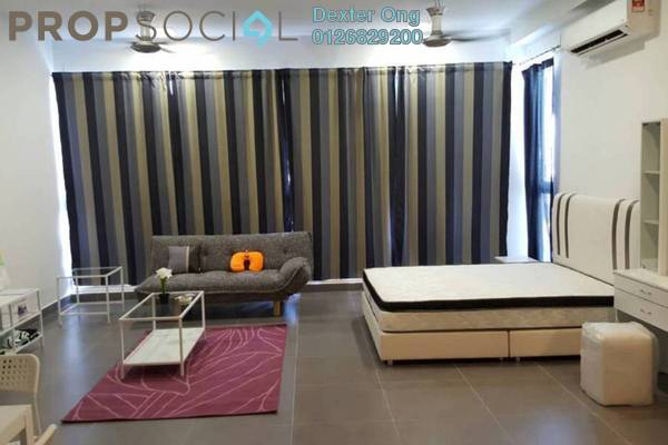 For Sale Condominium at Sentrio Suites, Desa Pandan Leasehold Fully Furnished 0R/1B 490k