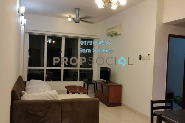 For Rent Serviced Residence at e-Tiara, Subang Jaya Freehold Fully Furnished 2R/2B 2.3k