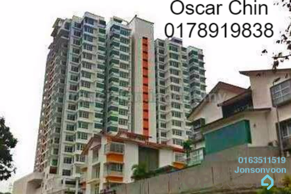 For Rent Condominium at Residensi Desa, Kuchai Lama Freehold Semi Furnished 3R/3B 1.6k