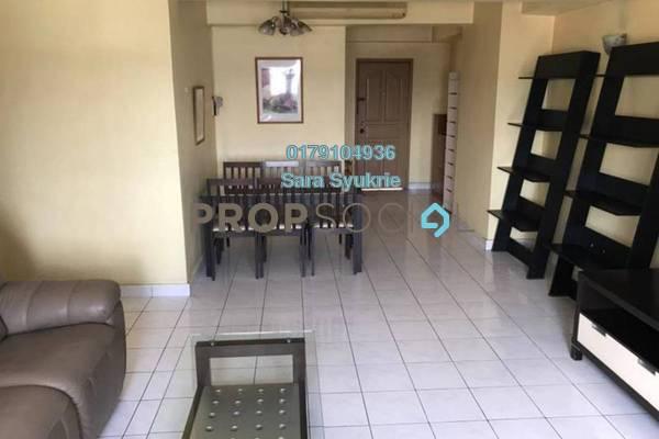 For Rent Condominium at Kelana Puteri, Kelana Jaya Leasehold Fully Furnished 2R/2B 1.9k