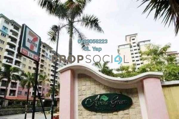 For Rent Apartment at Arena Green, Bukit Jalil Freehold Unfurnished 2R/1B 900translationmissing:en.pricing.unit