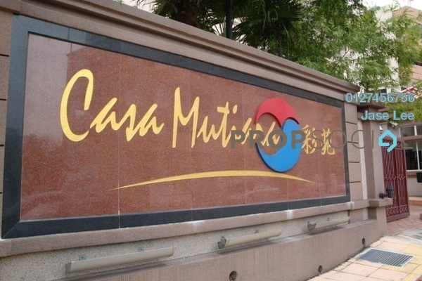 For Rent Serviced Residence at Casa Mutiara, Pudu Freehold Fully Furnished 1R/1B 1.8k