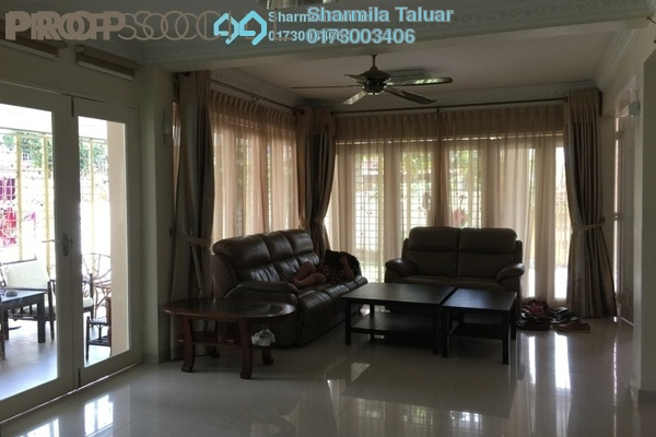 For Sale Semi-Detached at Taman Ibukota, Setapak Freehold Semi Furnished 5R/6B 2.3m