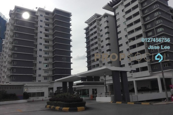 For Rent Condominium at Kiara Residence, Bukit Jalil Leasehold Semi Furnished 3R/3B 2.1k
