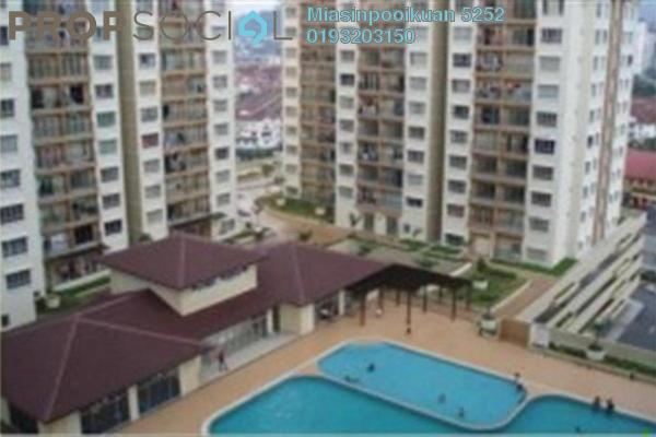 For Rent Condominium at Ampang Prima, Ampang Leasehold Fully Furnished 3R/2B 1.6k