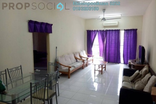 For Rent Condominium at Ampang Prima, Ampang Leasehold Fully Furnished 3R/2B 1.5k