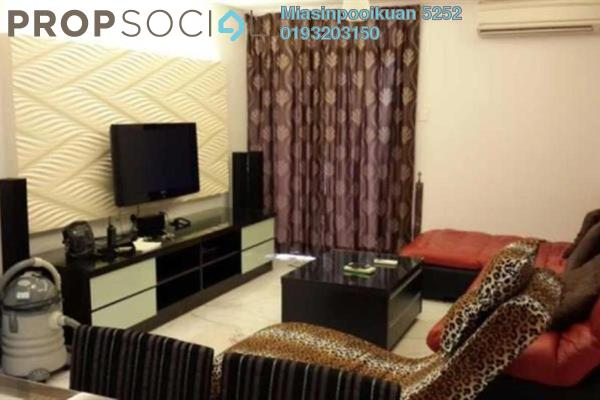For Sale Apartment at Permai Putera, Ampang Leasehold Fully Furnished 3R/2B 400k