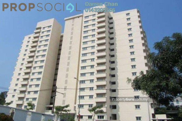For Sale Apartment at Mandarina Court, Cheras Leasehold Semi Furnished 3R/2B 320k