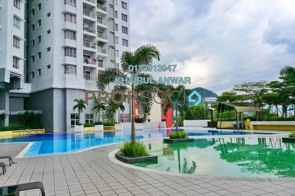 For Sale Condominium at Symphony Heights, Selayang Leasehold Unfurnished 3R/2B 370k