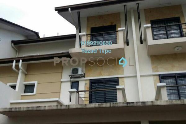 For Rent Terrace at Casa Residence, Bandar Mahkota Cheras  Semi Furnished 5R/4B 1.9k