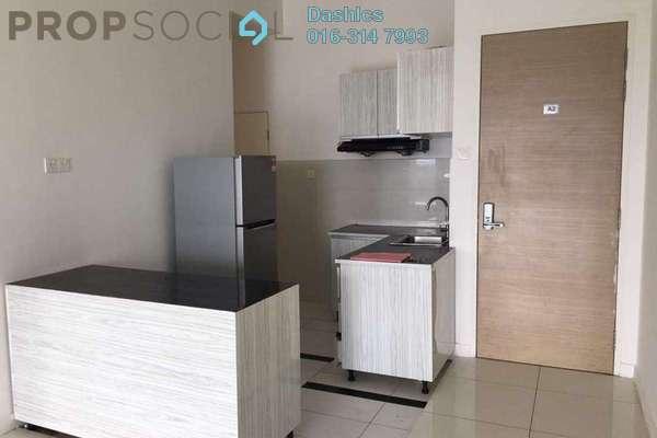 For Rent Condominium at Skypod, Bandar Puchong Jaya Freehold Semi Furnished 3R/2B 1.7k