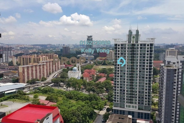 For Rent Serviced Residence at Swiss Garden Residences, Pudu Freehold Fully Furnished 1R/1B 3k
