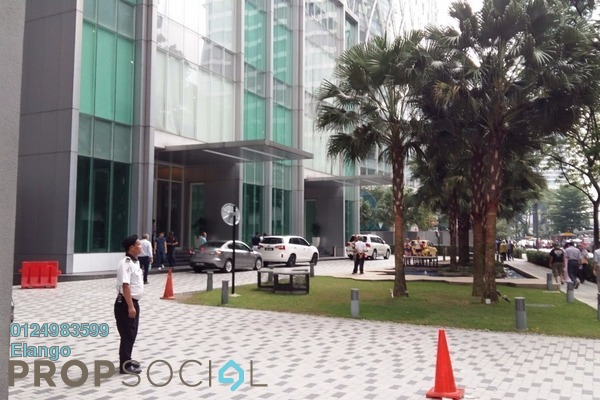 For Sale Office at Soho Suites, KLCC Freehold Semi Furnished 0R/0B 7.7m