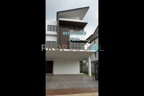 For Sale Superlink at Cahaya Alam, Shah Alam Leasehold Unfurnished 6R/6B 2.2m