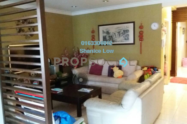 For Rent Terrace at Taman Megah, Kepong Freehold Semi Furnished 4R/3B 2.3k
